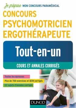 Concours Psychomotricien Ergothérapeute - dunod - 9782100784288