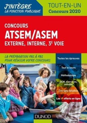 Concours ATSEM/ASEM - dunod - 9782100789696 -