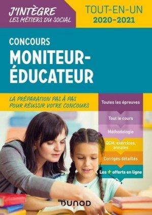 Concours Moniteur éducateur - dunod - 9782100790425 -