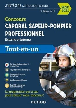 Concours Sapeur-pompier professionnel caporal -2020/21 - dunod - 9782100806898 -