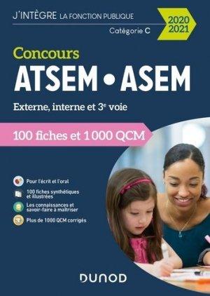 Concours ATSEM-ASEM 2020-2021 - dunod - 9782100807031 -