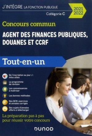 Concours commun Agent des finances publiques, douanes et CCRF. Catégorie C Tout-en-un, Edition 2020-2021 - Dunod - 9782100809578 -