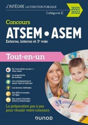 Concours ATSEM/ASEM Externe, interne, 3e voie - Dunod - 9782100819980 -