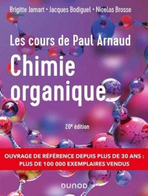 Cours de Chimie organique - Dunod - 9782100823567 -