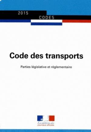 Code des transports - journaux officiels - 9782110770059 -