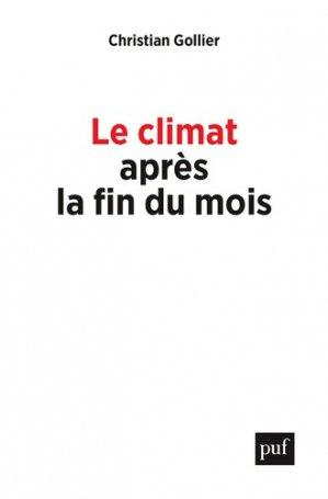Le climat après la fin du mois - puf - 9782130818854 -