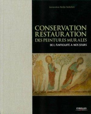Conservation Restauration des peintures murales - eyrolles - 9782212122695 -