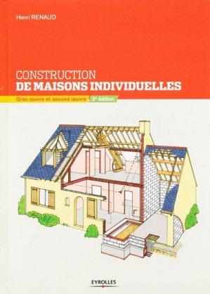 Constructions de maisons individuelles - eyrolles - 9782212125689 -