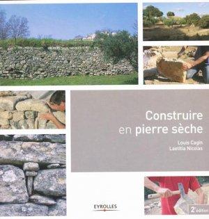 Construire en pierre sèche - eyrolles - 9782212128482 -