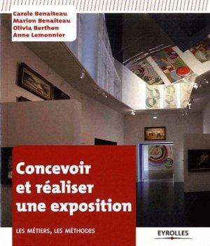 Concevoir et réaliser une exposition - eyrolles - 9782212132021 -