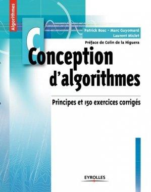 Conception d'algorithmes - eyrolles - 9782212133660 -