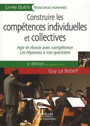 Construire les compétences individuelles et collectives - Eyrolles - 9782212546583 -