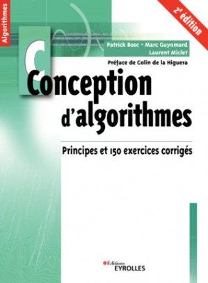 Conception d'algorithmes - eyrolles - 9782212677287 -