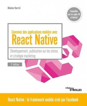 Concevez des applications mobiles avec React Native - Eyrolles - 9782212678895 -