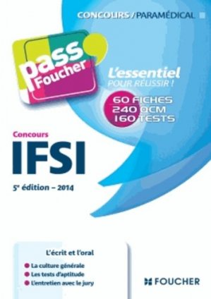 Concours IFSI - foucher - 9782216124947 -
