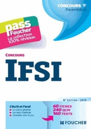 Concours IFSI - foucher - 9782216128877 -