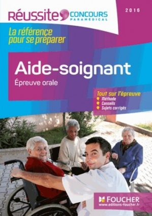 Concours Aide-soignant - 2016 - foucher - 9782216133062
