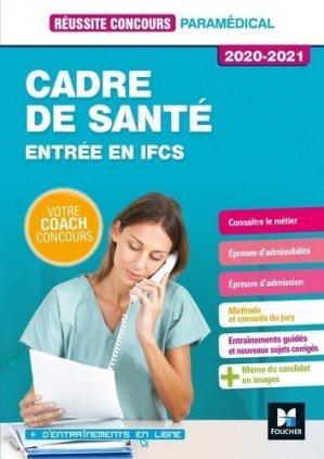 Concours - Cadre de santé - 2020-2021 - foucher - 9782216154784 -