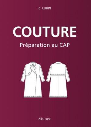 Couture : préparation au CAP - maloine - 9782224035778 -