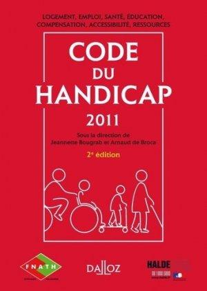 Code du handicap - dalloz - 9782247088461 -