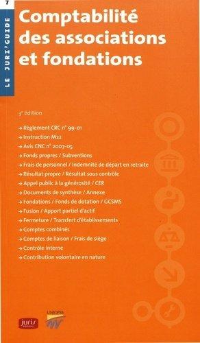 Comptabilité des associations et fondations - Juris éditions - 9782247168859 -