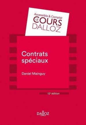 Contrats spéciaux - dalloz - 9782247198559 -