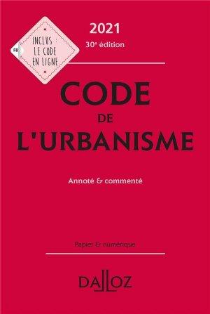 Code de l'urbanisme - dalloz - 9782247202911 -