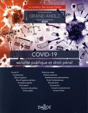 COVID-19 et sécurité publique - dalloz - 9782247203772 -