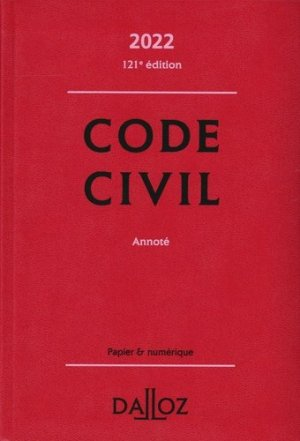Code civil - dalloz - 9782247204915 -