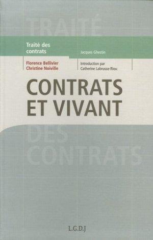 Contrats et vivant. Le droit de la circulation des ressources biologiques - LGDJ - 9782275026312 -