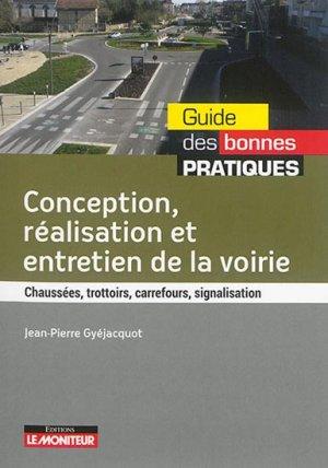 Conception, réalisation, entretien de la voirie - le moniteur - 9782281119008 -