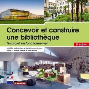 Concevoir et construire une bibliothèque - le moniteur - 9782281119329 -