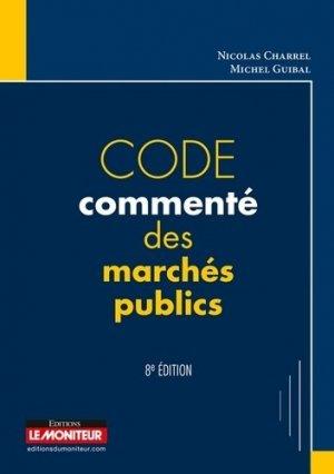 Code commenté des marchés publics - le moniteur - 9782281130140 -