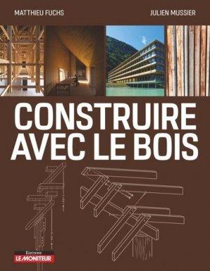 Construire avec le bois - groupe moniteur - 9782281142228 -