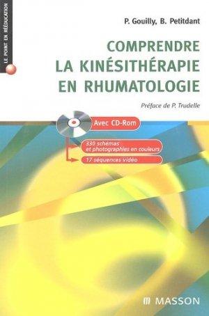 Comprendre la kinésithérapie en rhumatologie - elsevier / masson - 9782294020216