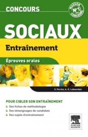 Concours sociaux  Épreuves orales - elsevier / masson - 9782294713088 -