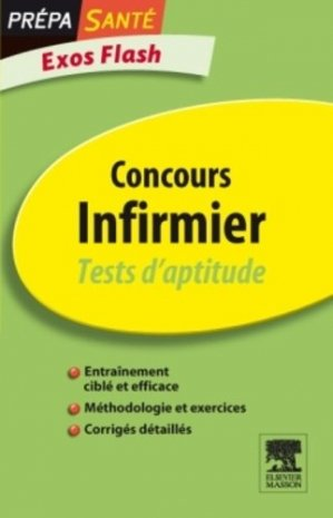 Concours infirmier - elsevier / masson - 9782294715181