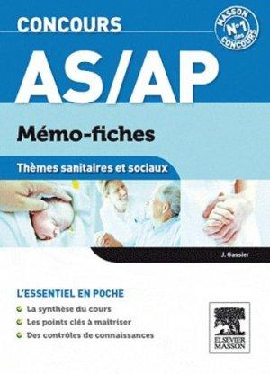 Concours AS/AP Thèmes sanitaires et sociaux - elsevier / masson - 9782294726774 -