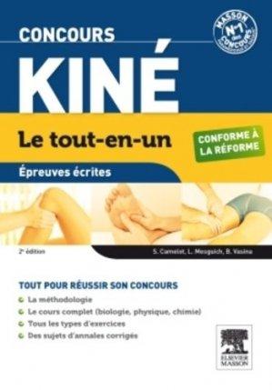 Concours Kiné - elsevier / masson - 9782294727566 -