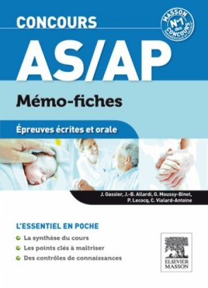 Concours AS/AP - elsevier / masson - 9782294730887 -