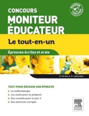 Concours Moniteur Éducateur - Épreuves écrites et orale - elsevier / masson - 9782294734298 -