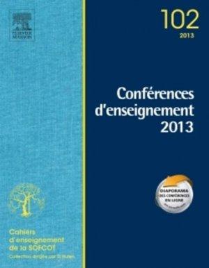 Conférences d'enseignement 2013 - elsevier / masson - 9782294735424 -