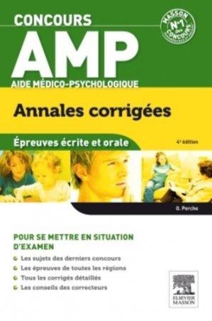 Concours AMP - Épreuves écrite et orale - elsevier / masson - 9782294737060 -