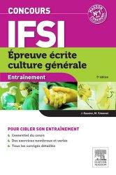 Concours IFSI Épreuve écrite Culture générale - elsevier / masson - 9782294738876