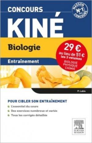 Concours Kiné Entrainement Pack 3 volumes - elsevier / masson - 9782294742477 -