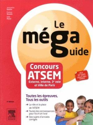 Concours ATSEM - Epreuve écrites et orale - elsevier / masson - 9782294744990 -