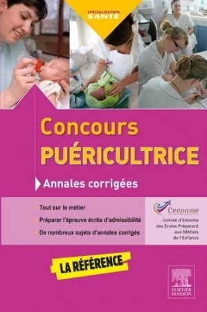 Concours puéricultrice - elsevier / masson - 9782294749087 -