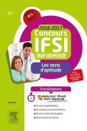 Concours IFSI les tests d'aptitude - elsevier / masson - 9782294750342 -
