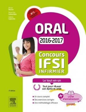 Concours IFSI Épreuve orale - elsevier / masson - 9782294750557 -