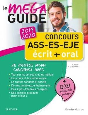 Concours ASS - ES - EJE Le Méga Guide 2019-2020 - elsevier / masson - 9782294760488 -